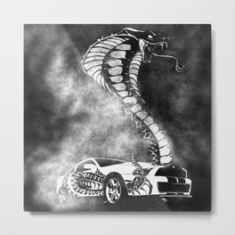 The Cobra Effect Metal Print
