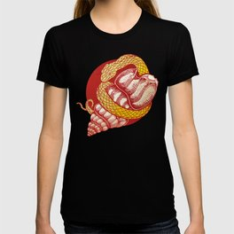 Snake and Shell T-shirt