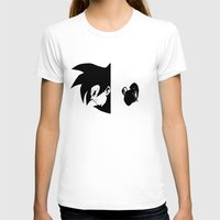 vegeta T-shirts featuring Goku & Vegeta SS4 Face  by Prince Of Darkness