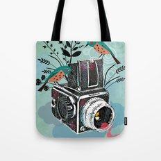 Vintage Camera Hasselblad Tote Bag