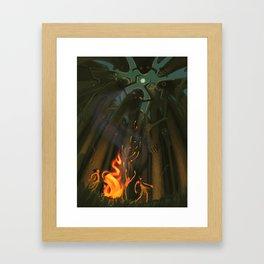Wandering Giants/Summoning Framed Art Print
