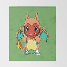 pocket monster Throw Blanket