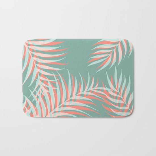 Palms Vision #society6 #decor #buyart Bath Mat
