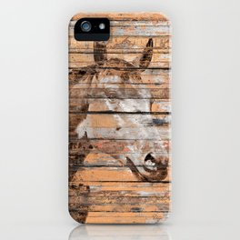 Horse Face iPhone Case