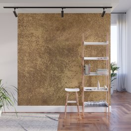 Abstract gold paper Wall Mural