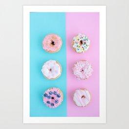 donuts #society6 #buyart #homedecor Art Print