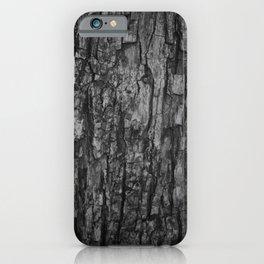 Bark VI Monochrome iPhone Case