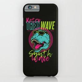 T-Rex Wave iPhone Case