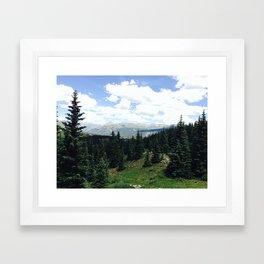 Mountains 4 Framed Art Print