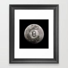 Magic 8 Ball Framed Art Print