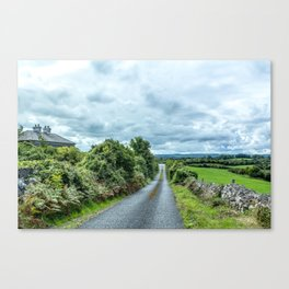 The Rising Road, Ireland Canvas Print