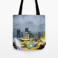 denver Tote Bags featuring Denver by Kodablck