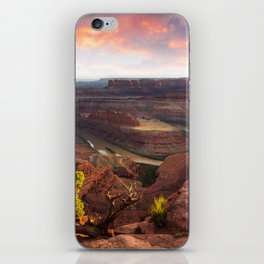 Dead Horse Point Sunset, Utah iPhone Skin