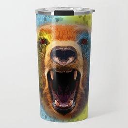 Warrior bear. Travel Mug