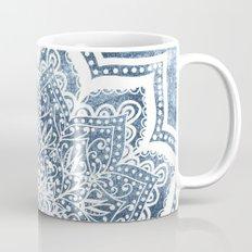 BLUEISH SEA FLOWER MANDALA Mug