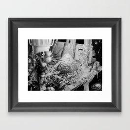 Lucid dream Framed Art Print