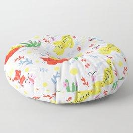 Happy cats (pattern L) Floor Pillow