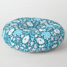 Sea Bunnies Floor Pillow