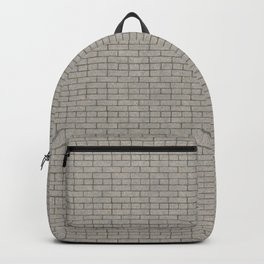 Dark grout brick  Backpack