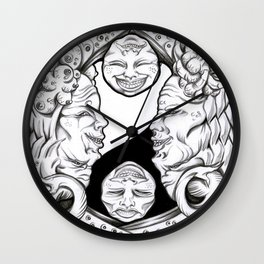 Misunderstandings between men and women Wall Clock