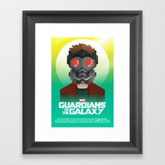 Guardians of the Galaxy - Star-Lord Framed Art Print
