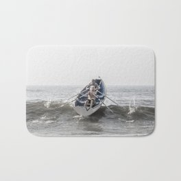 Over The Wave Bath Mat