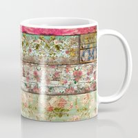 lady Mugs featuring Lady Rococo by Diego Tirigall
