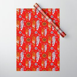 Tigers pattern 4 Wrapping Paper