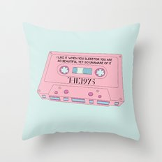 Cassete Tape Throw Pillow