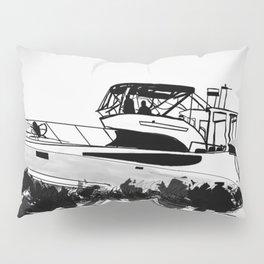 Boat on the Ocean Pillow Sham