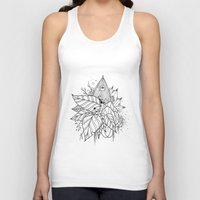 all seeing eye Tank Tops featuring All Seeing Eye by R. Gilbert