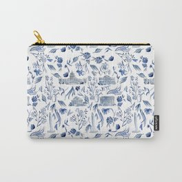 DC in Blue Carry-All Pouch