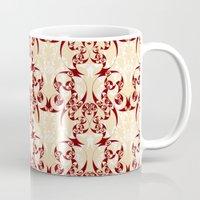 skyrim Mugs featuring Celtic Loop White by Astrablink7