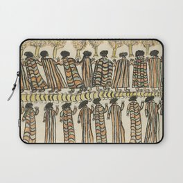 Figures in possum skin cloaks by William Barak, 1889 Laptop Sleeve