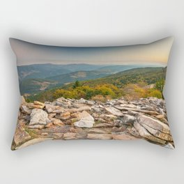 Spruce Knob Mountain Sunset Rectangular Pillow