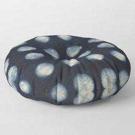 Shibori Moons Floor Pillow