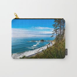 Pacific View - Coastal Scenery in Washington State Carry-All Pouch