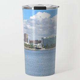 Long Beach Harbor Travel Mug