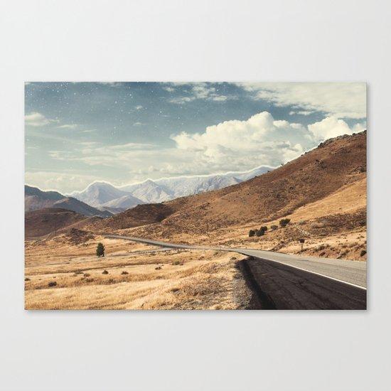 Road trippin California Canvas Print