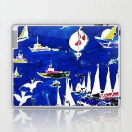 The Marina, Southport, Qld. AUSTRALIA Laptop & iPad Skin