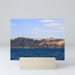 Santorini, Greece 17 Mini Art Print