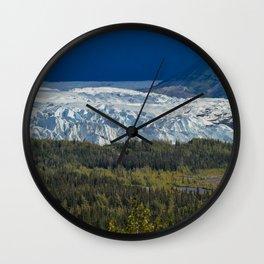 Matanuska Glacier, Alaska - Summer Wall Clock