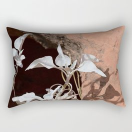 Silver Whites in the Desert Rectangular Pillow