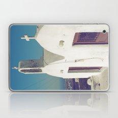 Santorini Churches II Laptop & iPad Skin