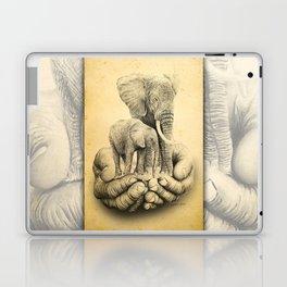 Refuge Elephants Drawing Laptop & iPad Skin
