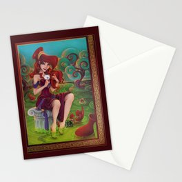 Megara Damsel in Distress Stationery Cards