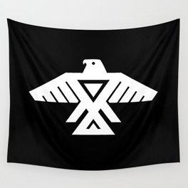 Thunderbird flag - Inverse edition version Wall Tapestry