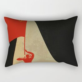 all the way up to the stars - soviet union propaganda Rectangular Pillow