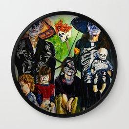 Las Tias Locitas ( The Crazy Aunties) Wall Clock