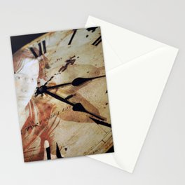 Lady Time Stationery Cards